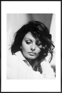 Sofia Loren, 1969 - Poster in Standard Frame