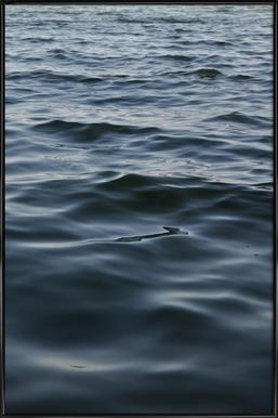 Feet In The Water - Poster im Kunststoffrahmen