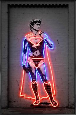 David - Poster in Standard Frame