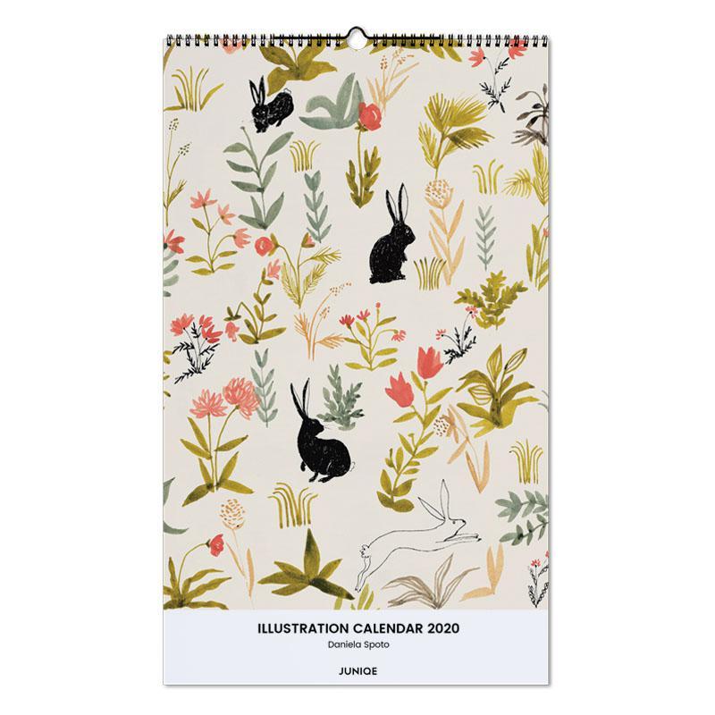 Illustration Calendar 2020 - Daniela Spoto Wall Calendar