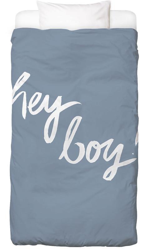 Hey Boy -Kinderbettwäsche