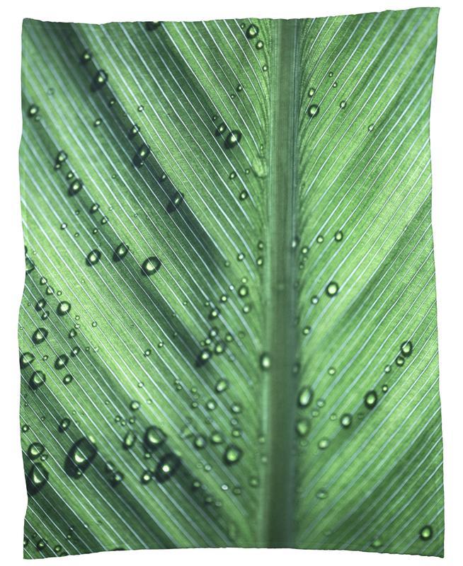 Palm Leaves 11 Fleece Blanket