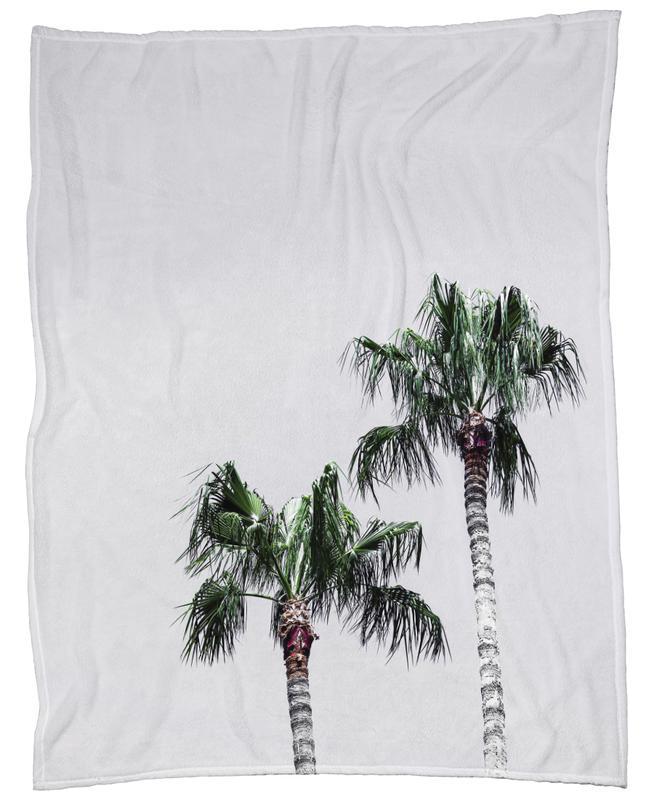 Palm Trees 6 -Fleecedecke