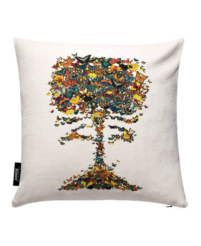 Atomic Butterfly Cushion Cover
