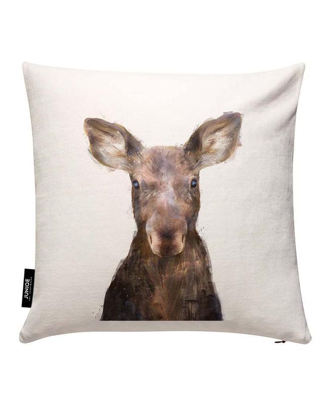 Little Moose Cushion Cover