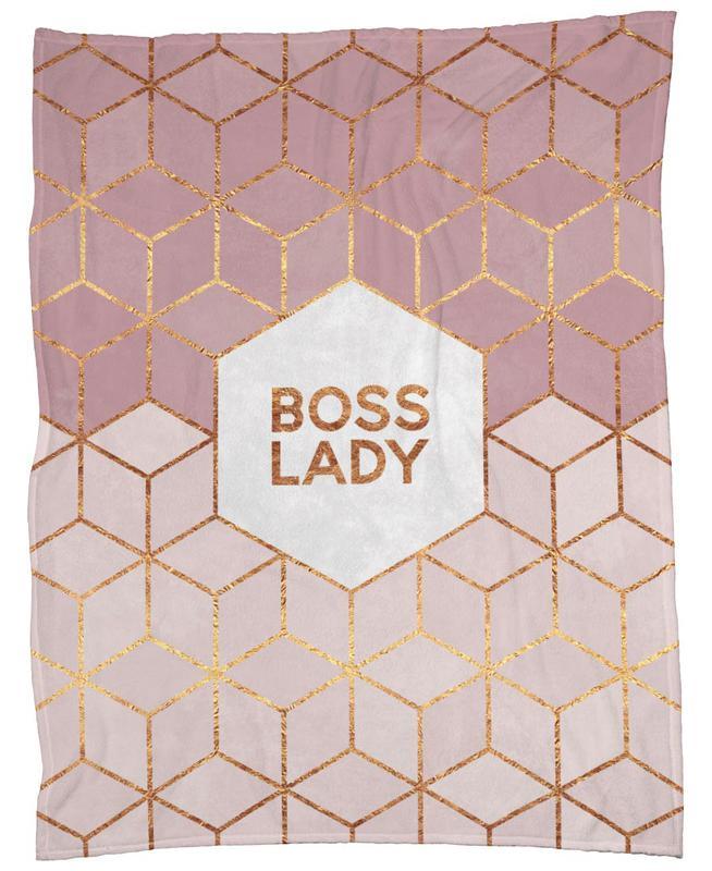 Boss Lady -Fleecedecke