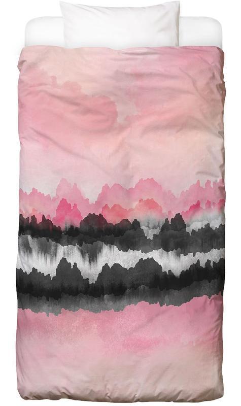 Pink Mountains Bettwäsche
