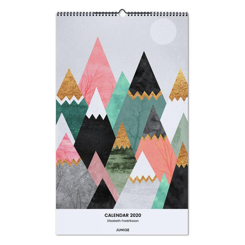 Wall Calendar 2020 - Elisabeth Fredriksson Wall Calendar