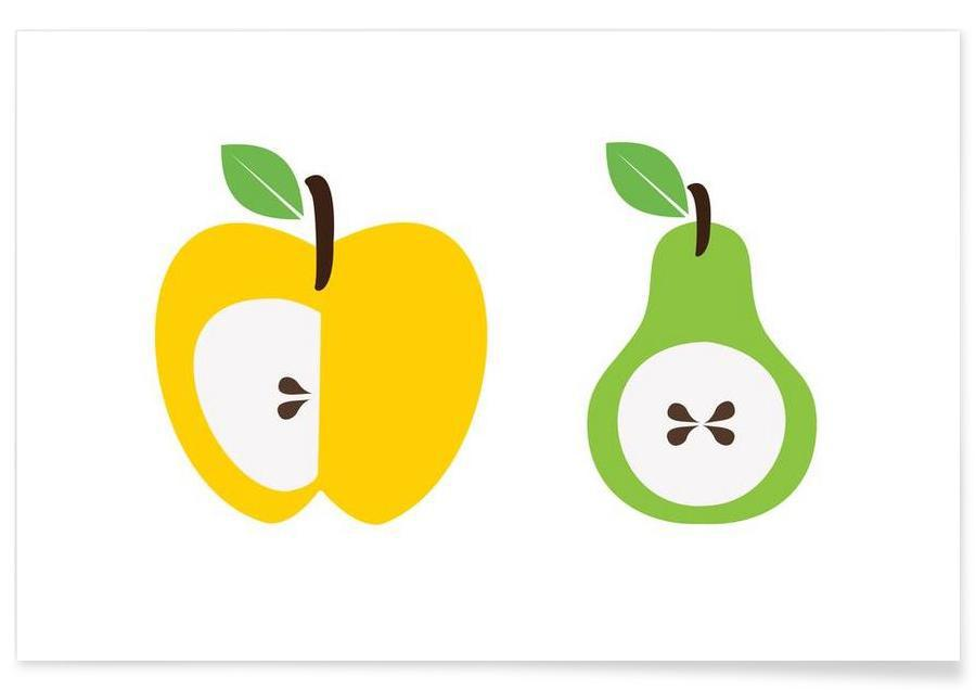 The Apple And Pear Poster Poster
