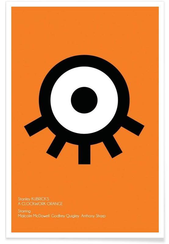 Orange affiche