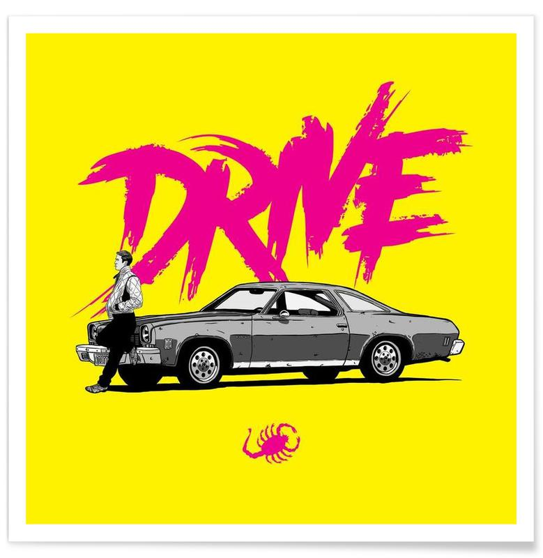 Drive - Yellow Poster