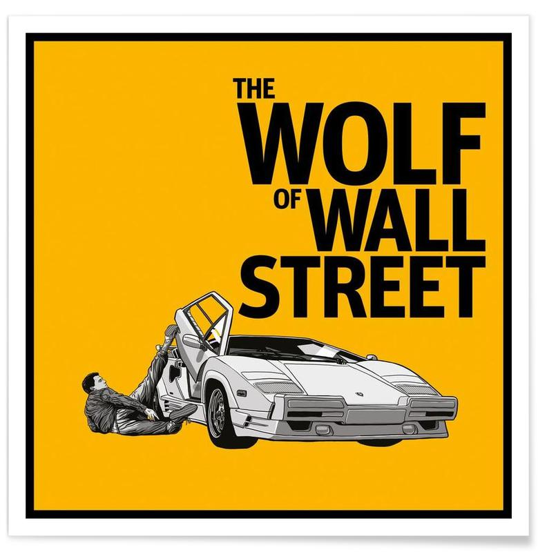 The Wolf of Wall Street affiche