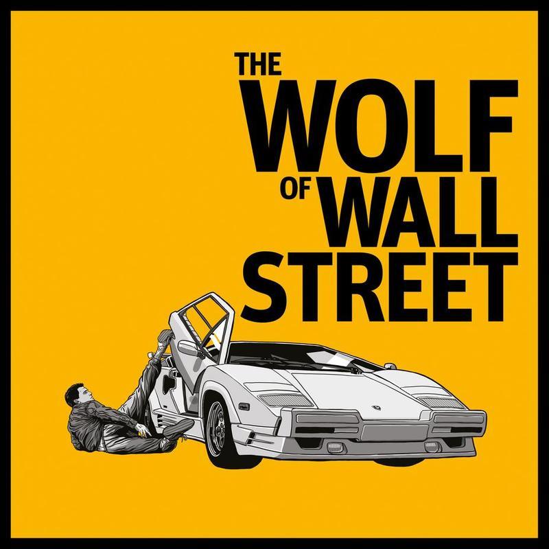 The Wolf of Wall Street -Acrylglasbild
