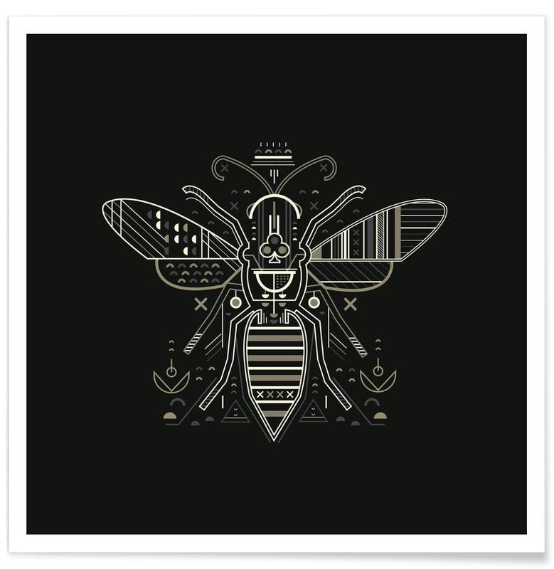 Zenith Wasp Poster