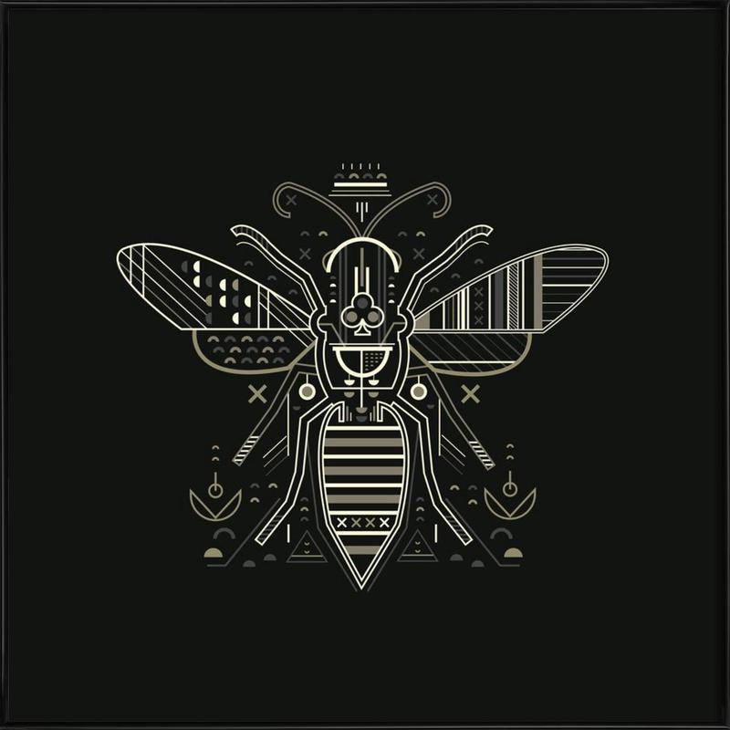 Zenith Wasp Framed Poster