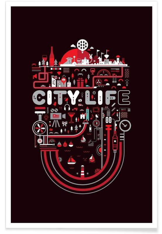 City Life -Poster