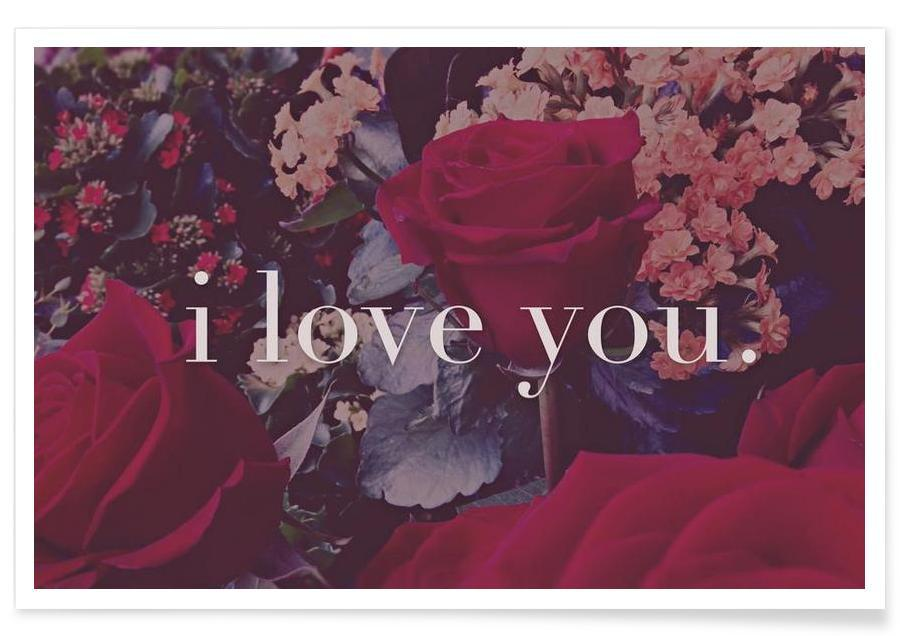 I Love You -Poster
