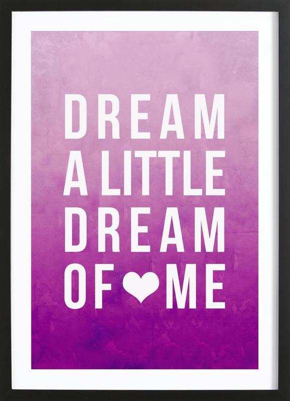 Dream Pink Framed Print