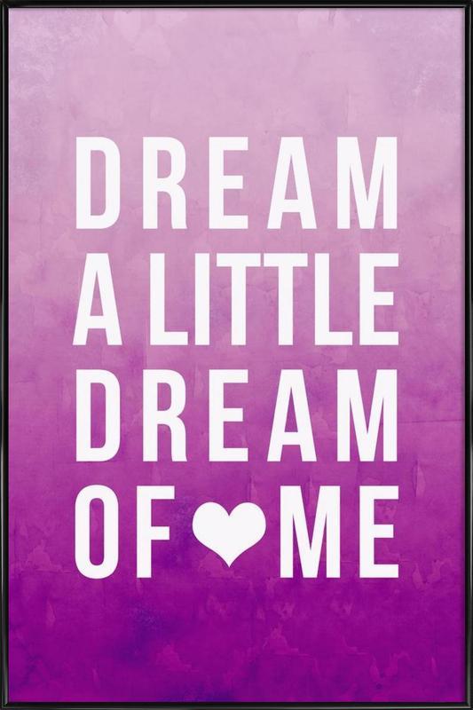 Dream Pink Framed Poster