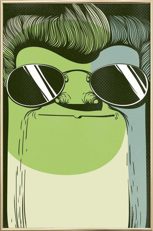 THE GUY -Poster im Alurahmen