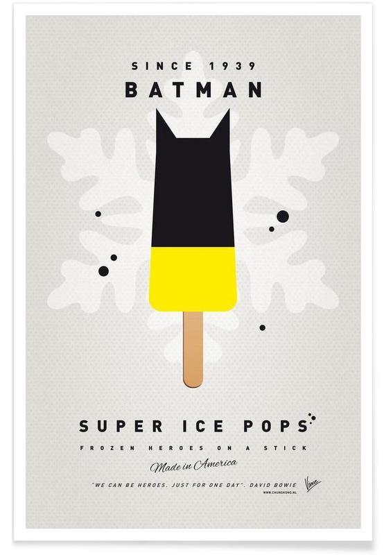 My Superhero Ice Pop - Batman affiche