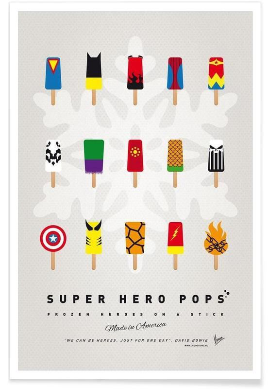 My Superhero Ice Pop - Universe affiche
