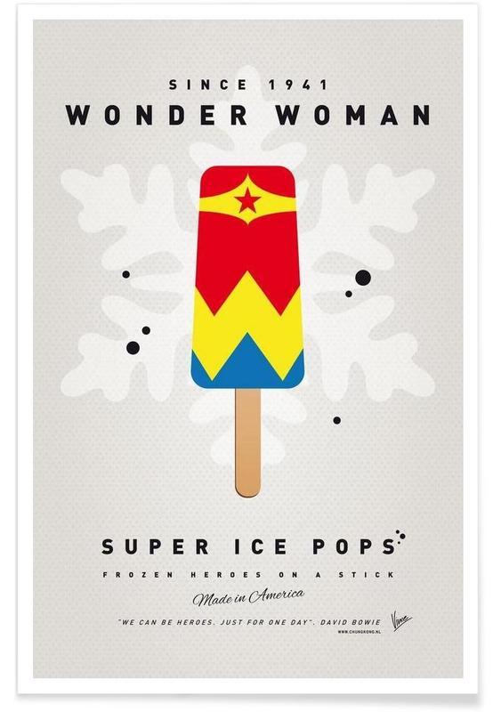 My Superhero Ice Pop - Wonder Woman -Poster