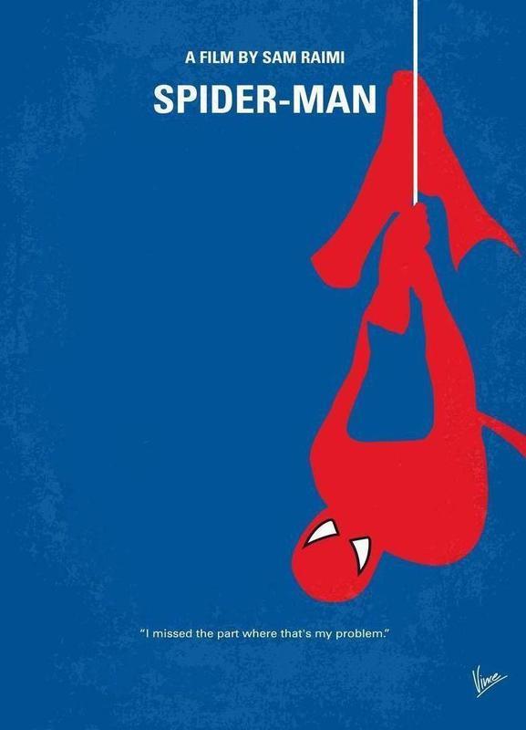 Spiderman -Leinwandbild