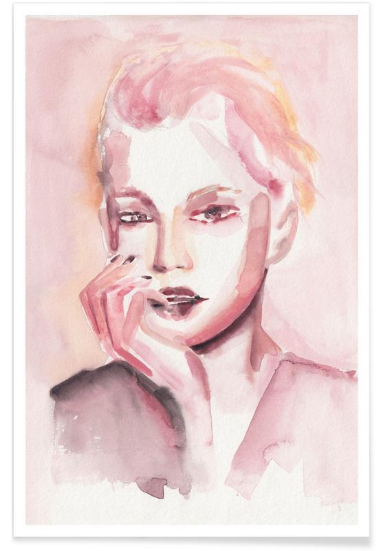 Through Rosey Lenses -Poster