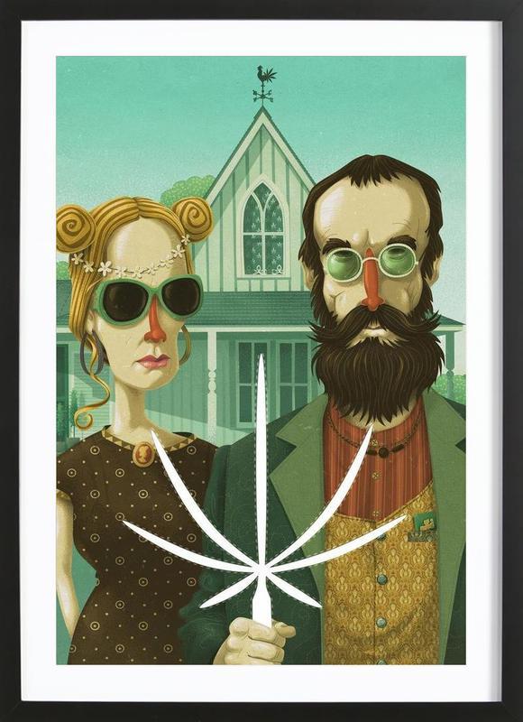 American Gothic High Framed Print