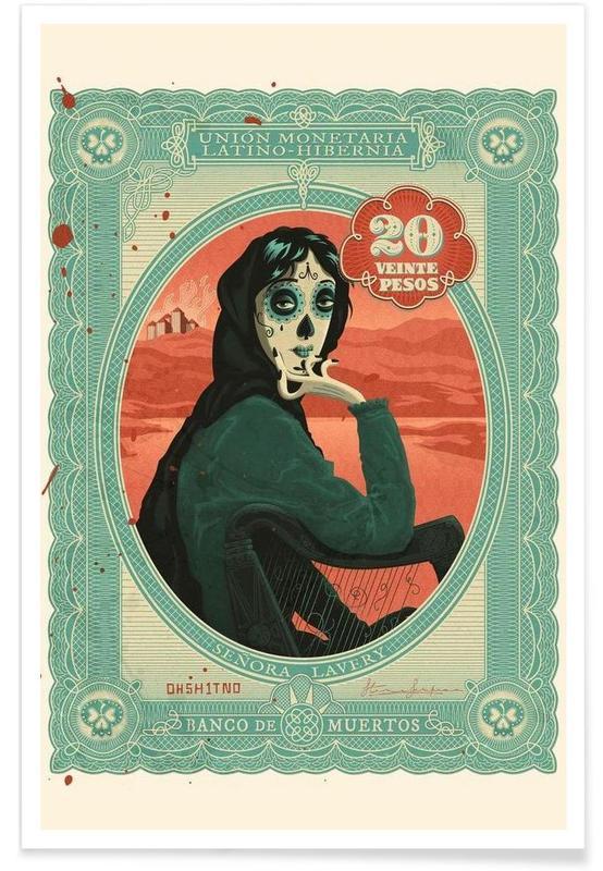 Senora Lavery Poster