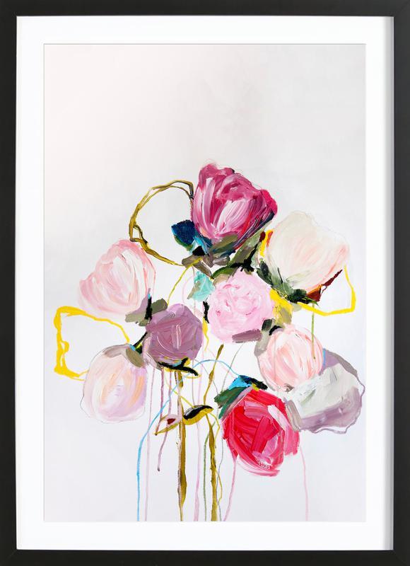 Bloom 0709 -Bild mit Holzrahmen