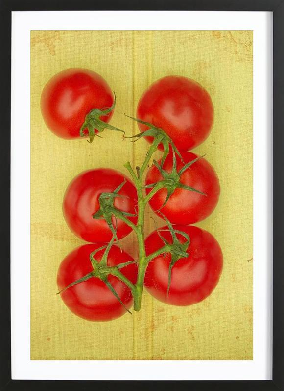 Big Tomatoes ingelijste print