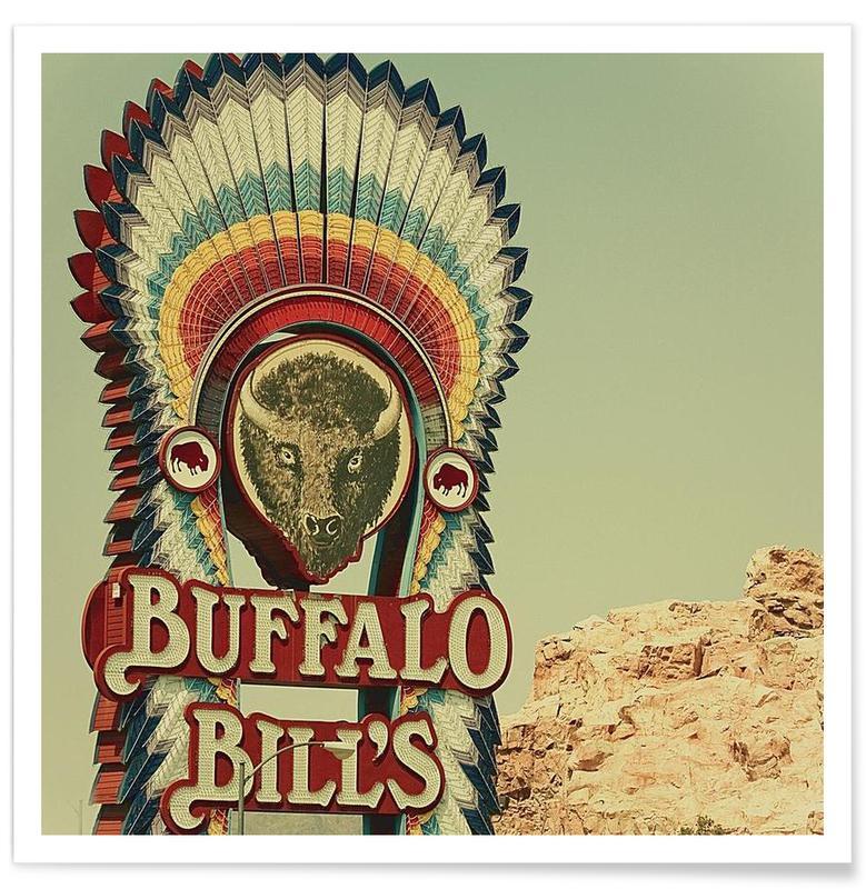 Buffalo Bills Square Poster