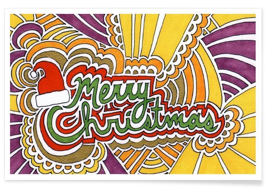 Holiday Drawing 3 -Poster