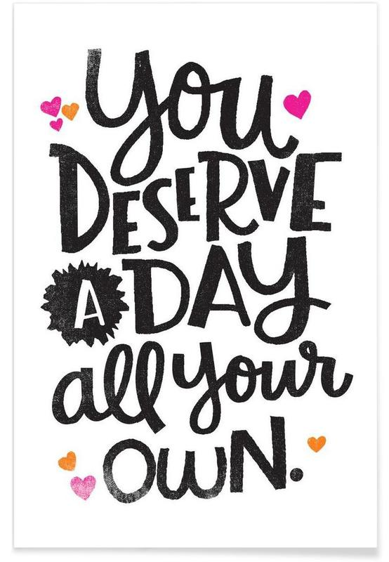 A Day Your Own affiche