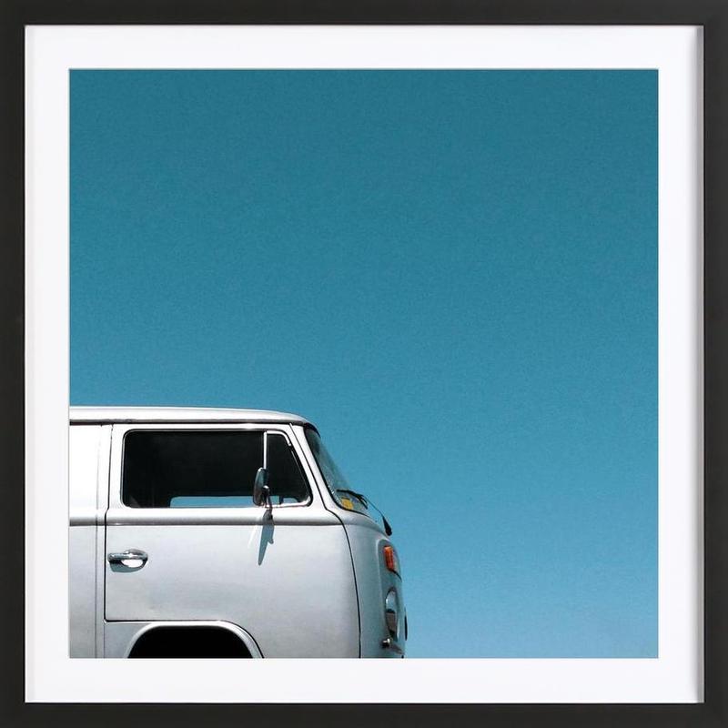 Wind Water Silver Framed Print