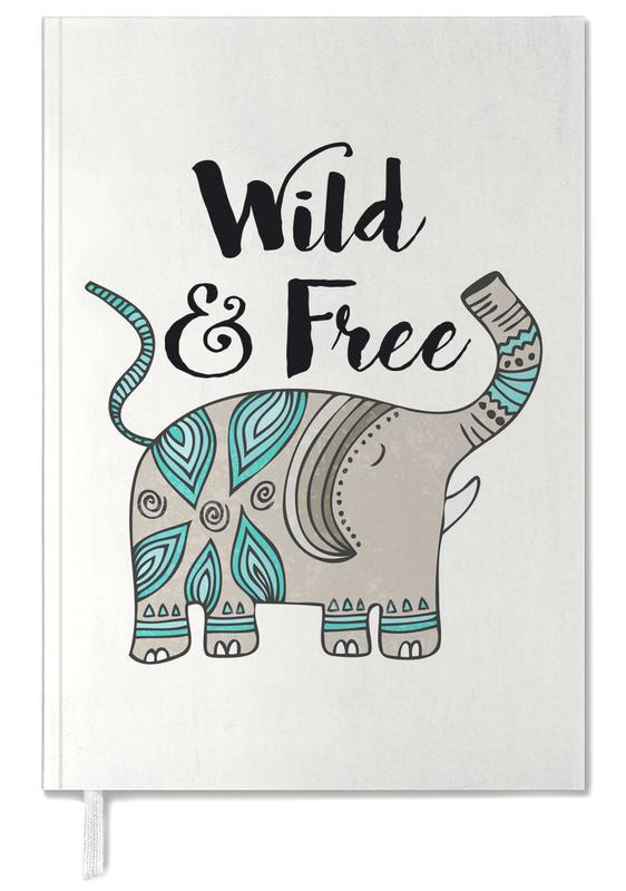 Wild And Free Personal Planner
