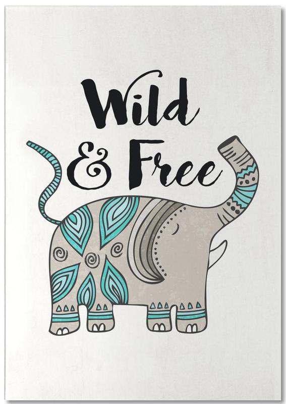 Wild And Free -Notizblock