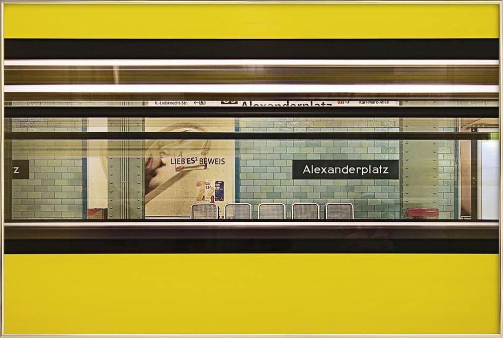 Liebesbeweis -Poster im Alurahmen
