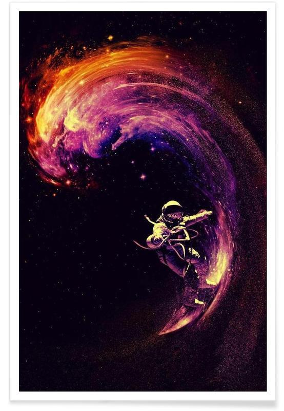 Space Surfing affiche