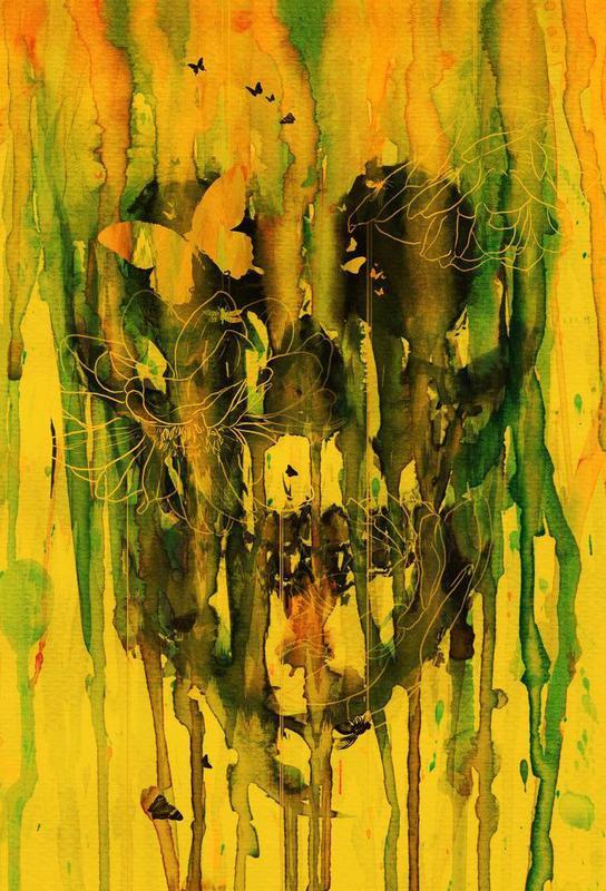 Birth of Oblivion Acrylic Print