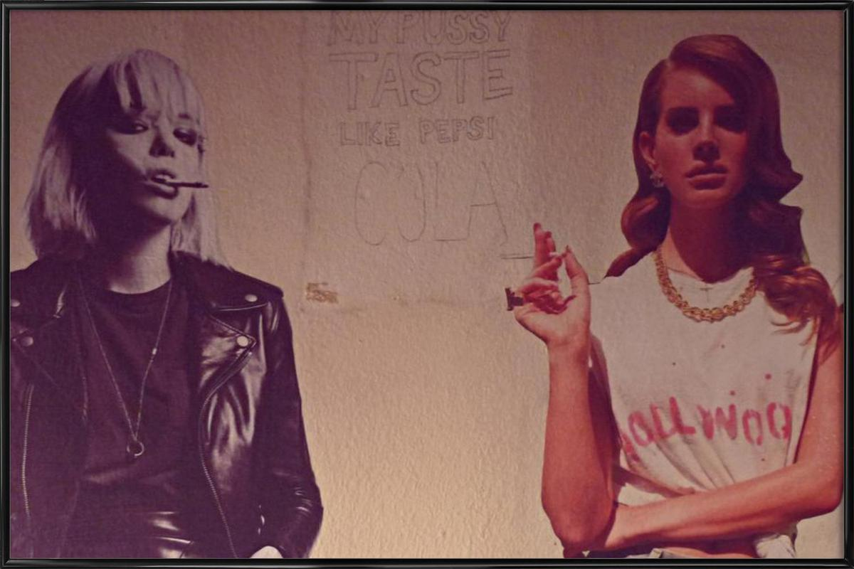 Cola Framed Poster
