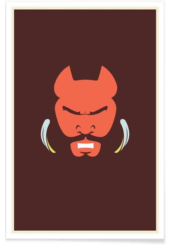 Mr T Minimalist Poster
