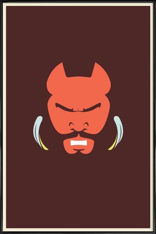 Mr T ingelijste poster