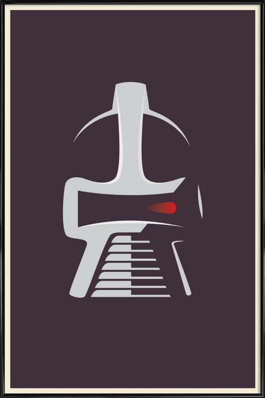Cylon Framed Poster