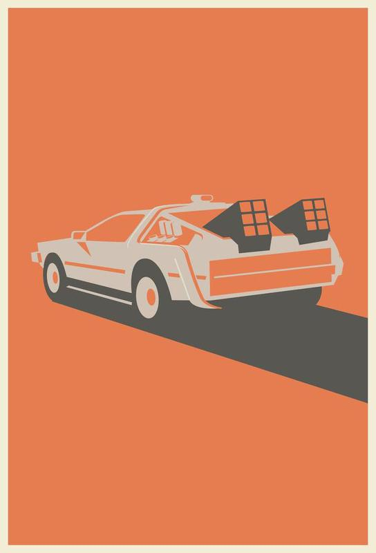 Back to the Future Acrylic Print