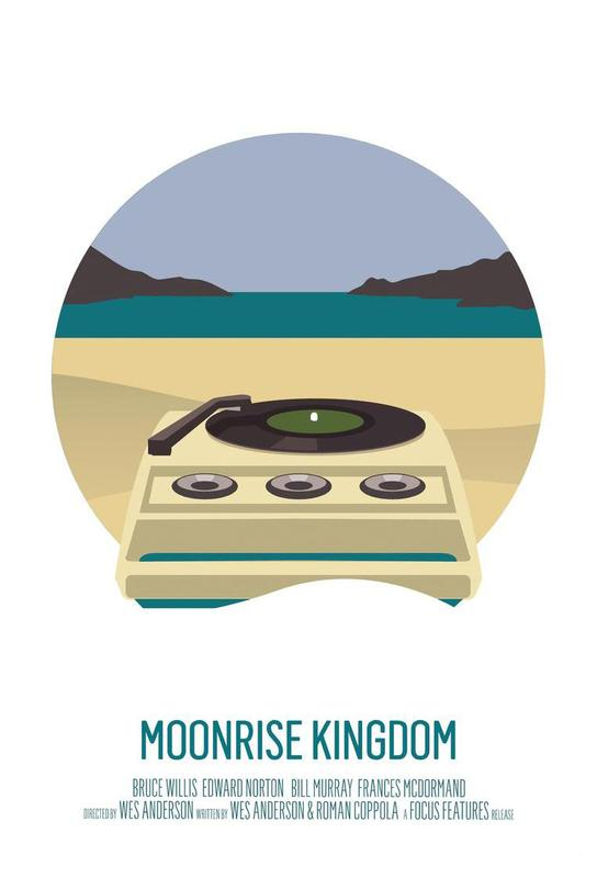 Moonrise Kingdom -Acrylglasbild