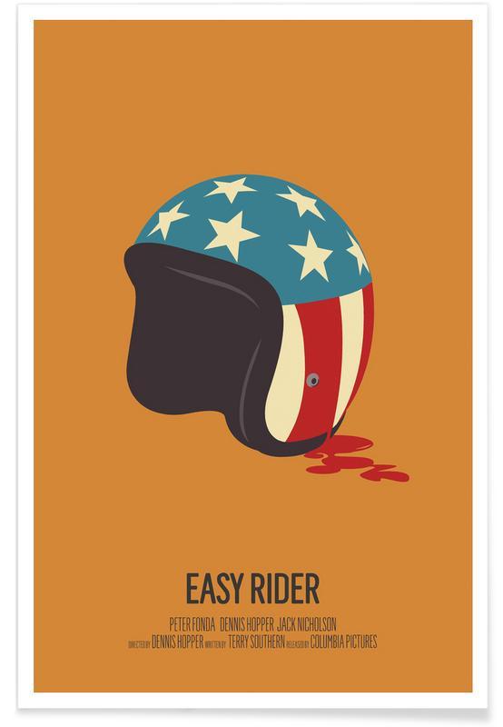 Easy Rider Minimalist Poster