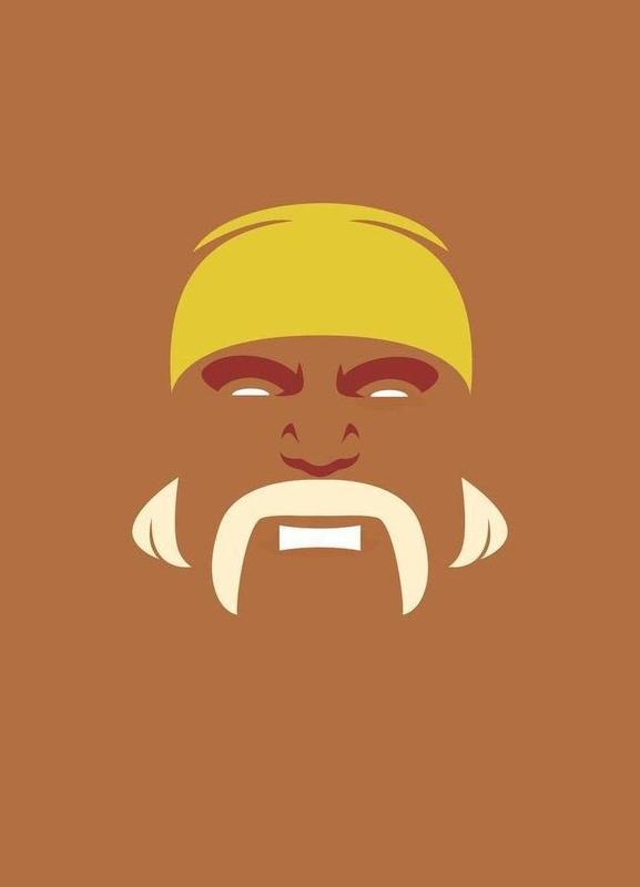 Hogan canvas doek